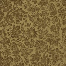 Brown Floral Upholstery And Drapery Fabric By Beacon Hill