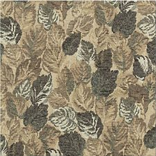 Green/Beige/Brown Botanical Drapery and Upholstery Fabric by Kravet