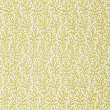 Chartreuse Drapery and Upholstery Fabric by Schumacher