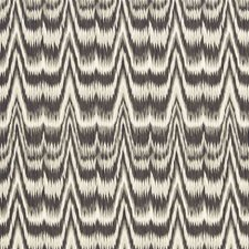Smoke Drapery and Upholstery Fabric by Schumacher