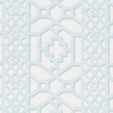 Winter Mint Drapery and Upholstery Fabric by Schumacher
