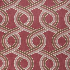 Very Berry Lattice Drapery and Upholstery Fabric by Fabricut