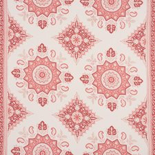 Faded Red Drapery and Upholstery Fabric by Schumacher