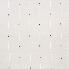 Black/White Drapery and Upholstery Fabric by Schumacher