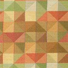Rust/Light Green Modern Drapery and Upholstery Fabric by Kravet