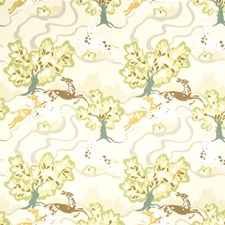 Citrine Animal Drapery and Upholstery Fabric by Fabricut