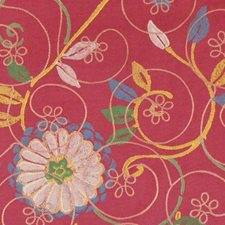 Pink Lemonade Drapery and Upholstery Fabric by Highland Court