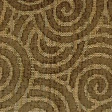 Honey/brown Drapery and Upholstery Fabric by Highland Court