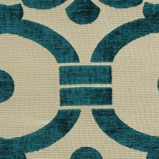 Peacock Drapery and Upholstery Fabric by Highland Court