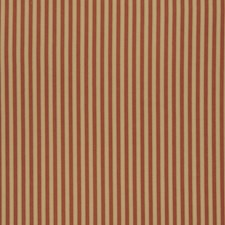 Rural Red Stripes Drapery and Upholstery Fabric by Fabricut