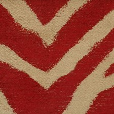 Red Drapery and Upholstery Fabric by Highland Court