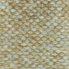 Aqua/Cocoa Chenille Drapery and Upholstery Fabric by Highland Court