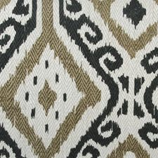 Onyx Ethnic Drapery and Upholstery Fabric by Highland Court