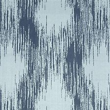 Indigo Abstract Drapery and Upholstery Fabric by Highland Court