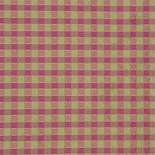Rose/Leaf Check Drapery and Upholstery Fabric by Lee Jofa