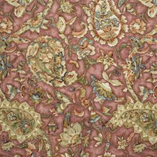 Rose Print Drapery and Upholstery Fabric by Lee Jofa
