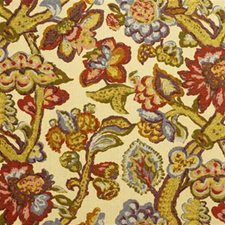 Tan Print Drapery and Upholstery Fabric by Lee Jofa