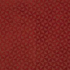 Paprika Geometric Drapery and Upholstery Fabric by Lee Jofa