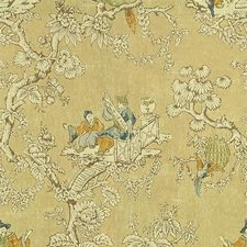 Flax Asian Drapery and Upholstery Fabric by Lee Jofa