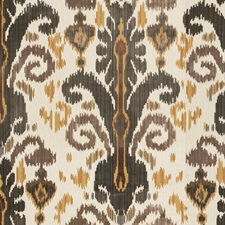 Graphite Ikat Drapery and Upholstery Fabric by Lee Jofa