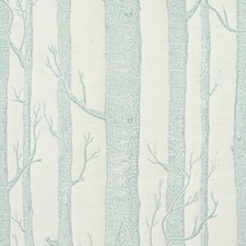 Mist Botanical Drapery and Upholstery Fabric by Lee Jofa