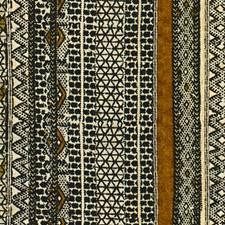 Coal Ethnic Drapery and Upholstery Fabric by Lee Jofa