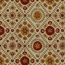 Ochre/Clay Ethnic Drapery and Upholstery Fabric by Lee Jofa