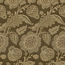 Sable Jacobeans Drapery and Upholstery Fabric by Lee Jofa
