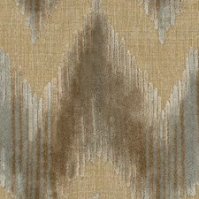 Grey Flamestitch Drapery and Upholstery Fabric by Lee Jofa