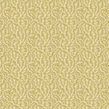 Chartreuse Botanical Drapery and Upholstery Fabric by Lee Jofa