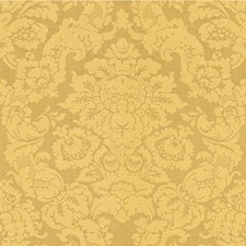 Maize Damask Drapery and Upholstery Fabric by Lee Jofa