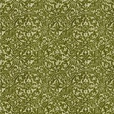 Leaf Damask Drapery and Upholstery Fabric by Lee Jofa