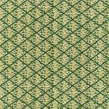 Green Animal Drapery and Upholstery Fabric by Lee Jofa
