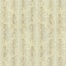Taupe Damask Drapery and Upholstery Fabric by Lee Jofa