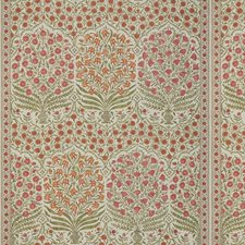 Spice/Berry Botanical Drapery and Upholstery Fabric by Lee Jofa