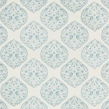 Sky Paisley Drapery and Upholstery Fabric by Lee Jofa