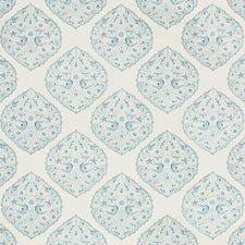 Sky Paisley Drapery and Upholstery Fabric by Lee Jofa