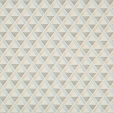 Blue/Beige Geometric Drapery and Upholstery Fabric by Lee Jofa