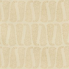 Pearl/Beige Paisley Drapery and Upholstery Fabric by Lee Jofa