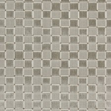 Silver Check Drapery and Upholstery Fabric by Lee Jofa