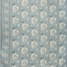 Denim Botanical Drapery and Upholstery Fabric by Lee Jofa