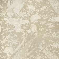 Taupe Tropical Drapery and Upholstery Fabric by Lee Jofa