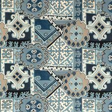 Blue/Slate Modern Drapery and Upholstery Fabric by Lee Jofa