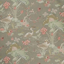 Fawn Botanical Drapery and Upholstery Fabric by Lee Jofa
