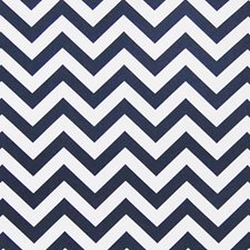 Blue Geometric Drapery and Upholstery Fabric by Greenhouse