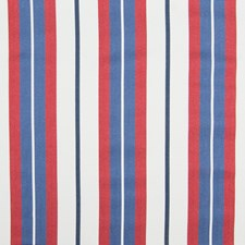 Blue Stripe Drapery and Upholstery Fabric by Greenhouse