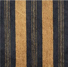 Blue/Yellow Stripes Drapery and Upholstery Fabric by Kravet