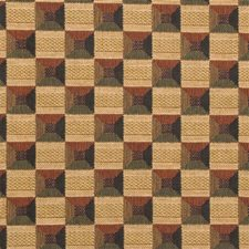 Rust/Beige Modern Drapery and Upholstery Fabric by Kravet