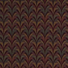 Purple Bargellos Drapery and Upholstery Fabric by Kravet