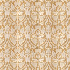 Camel Damask Drapery and Upholstery Fabric by Fabricut